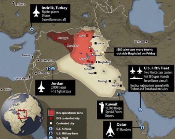 Time to Reduce U.S. Military Presence in Middle East ...