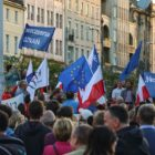 With democracy under fire, Poles take to the streets